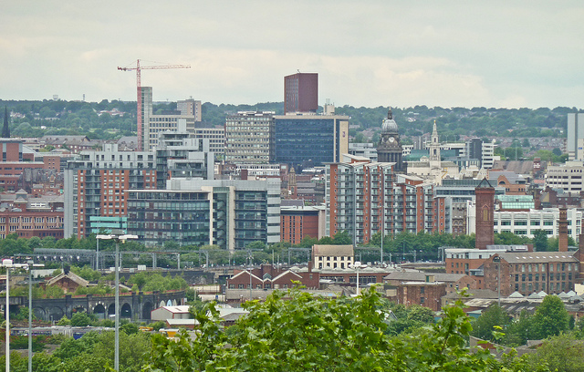 Leeds city centre. Picture by Tim Green